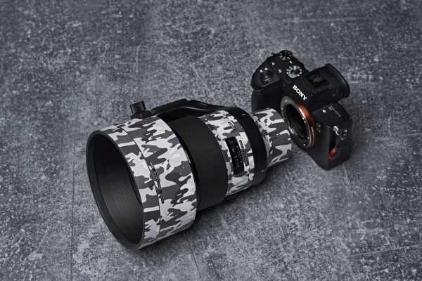 Sigma 105mm F1.4 Art DG HSM Lens for Sony E Mount - Protective Lens Guard Wrap Camouflage Skin