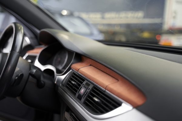 Pro Skins Decorative Dashboard Velvet Wrap for Audi A6 C7 2011-2018