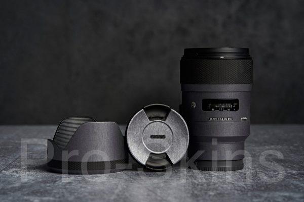 Pro-Skins Sigma 35mm f/1.4 DG HSM Art Lens for Sony E - Protective Lens Guard Wrap Skin