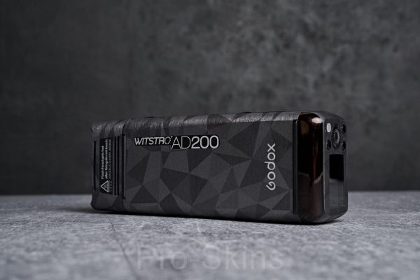 Pro-Skins Godox AD200 - Protective Flash Guard Wrap Green Shadow Camouflage Skin