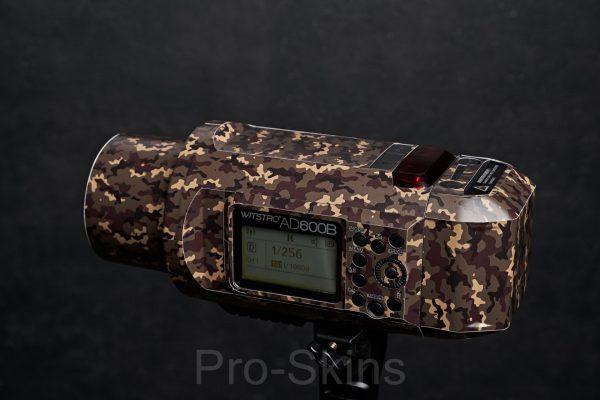 Pro-Skins Godox AD600 B/BM Protective Design Flash Guard Wrap Skin