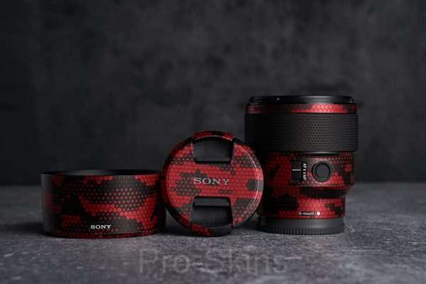 Pro-Skins - Sony FE 85mm f/1.8 Lens - Protective Lens Guard Wrap Skin